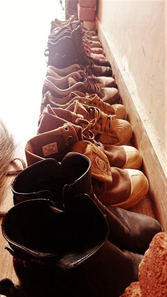 chaussures de marche voyage